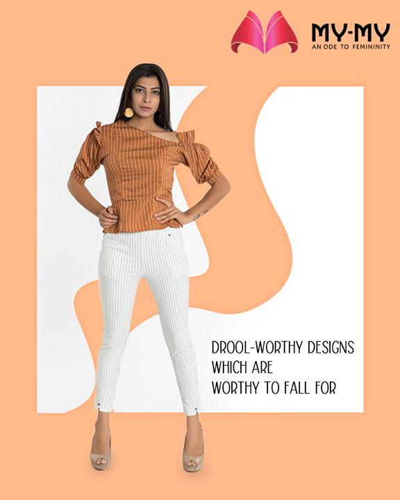 Looking to re-create your summer wardrobe?  Drop in at My-My to take a closer look at the drool-worthy outfits which are worthy to fall for!  #DroolworthyDesign #TrendingOutfits #AssortedEnsembles #FemaleFashion #SummerColours #Ahmedabad #MYMY #Gujarat #India
