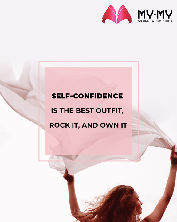 Self-confidence is the best outfit, rock it, and own it.   #QOTD #MinimalisticFashion #StayStylish #GlamUpGlamourGame #TrendingOutfits #AssortedEnsembles #AestheticPerfection #FemaleFashion #Ahmedabad #BeautifulDresses #Gujarat #India