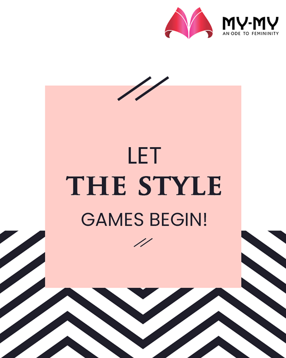 Let the style games begin!   #MyMy #FemaleFashion #Ahmedabad #BeautifulDresses #Sparkle #Gujarat #India