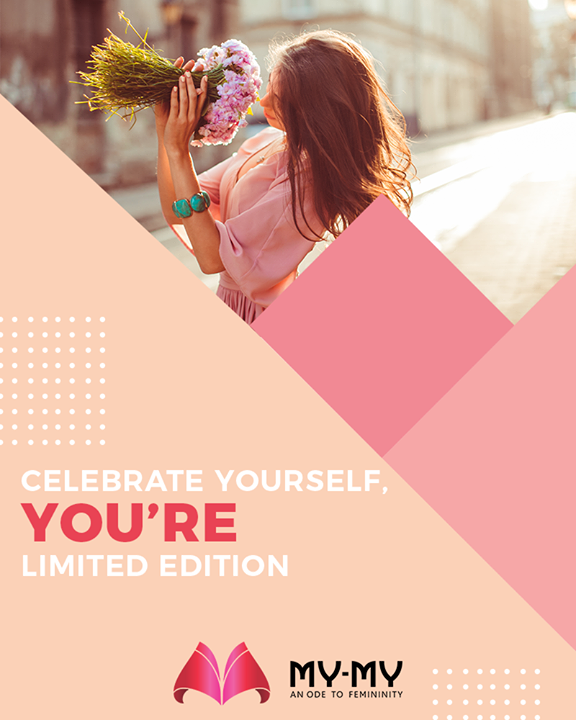 You're a limited edition.   #QOTD #MyMy #MyMyCollection #ExculsiveEnsembles #ExclusiveCollection #Ahmedabad #Gujarat #India