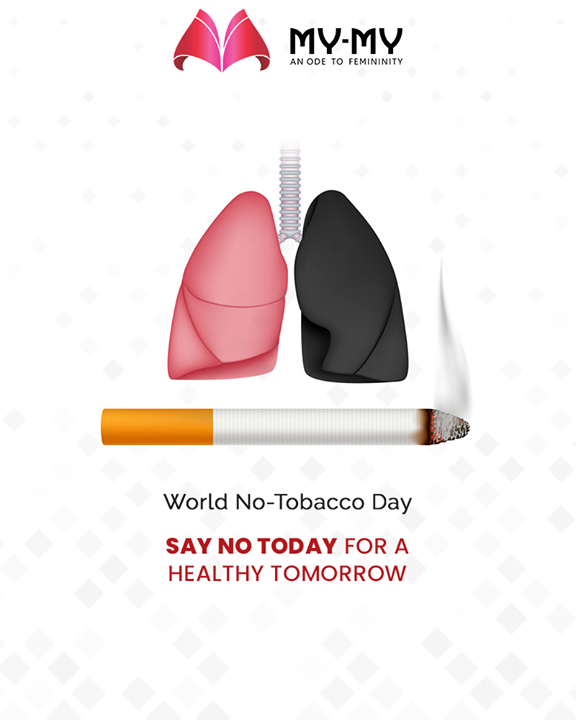 Say no today for a healthy tomorrow.  #WorldNoTobaccoDay #SayNoToTobacco #NoTobaccoDay #MyMy #MyMyCollection #ExculsiveEnsembles #ExclusiveCollection #Ahmedabad #Gujarat #India