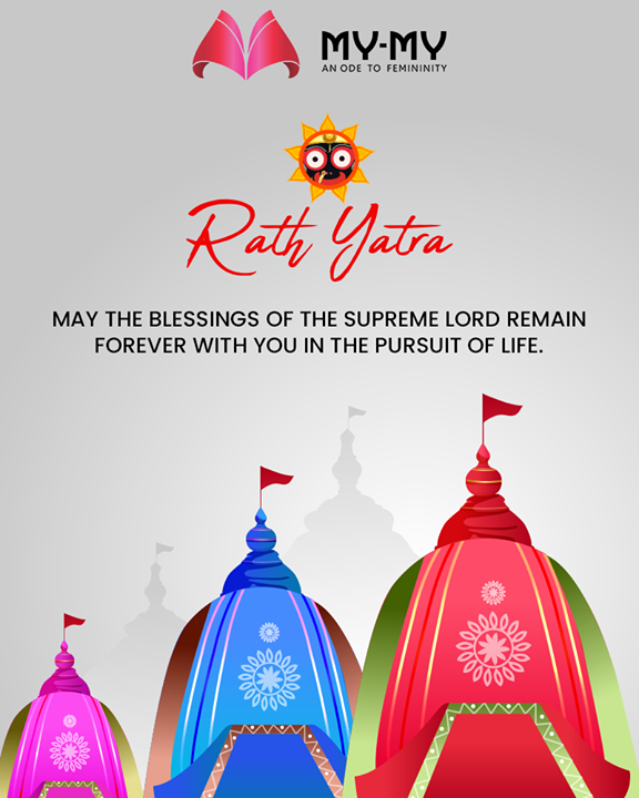 May the blessings of the supreme lord remain forever with you in the pursuit of life.  #RathYatra2019 #RathYatra #LordJagannath #FestivalOfChariots #Spirituality #MyMy #MyMyCollection  #Ahmedabad
