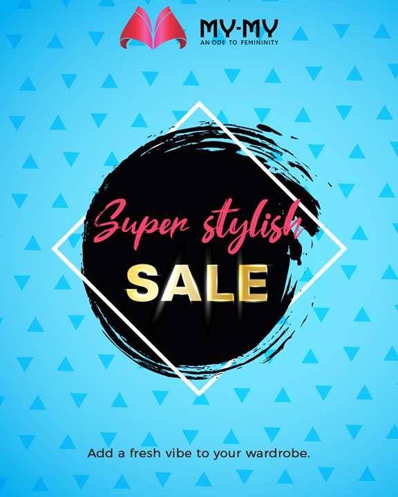 The Super Stylish Sale is live now, it's time to add thrill and freshness to your wardrobe with our funky & quirky designs!  #SuperStylishSale #Sale #SpecialOffer #MyMy #MyMyCollection #ExculsiveEnsembles #ExclusiveCollection #Ahmedabad #Gujarat #India