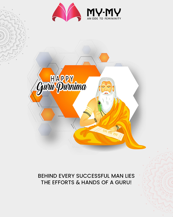 Behind every successful man lies the efforts & hands of a guru!  #GuruPurnima #GuruPurnima2019 #गुरुपुर्णिमा #IndianFestival #MyMy #MyMyStore #Ahmedabad #Gujarat #India