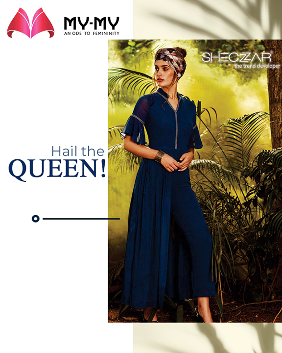 Hail the queen, she's all set to steal your heart & senses!   #SuperStylishSale #Sale #MyMySale #Sale2019 #MyMy #MyMyCollection #ExculsiveEnsembles #ExclusiveCollection #Ahmedabad #Gujarat #India