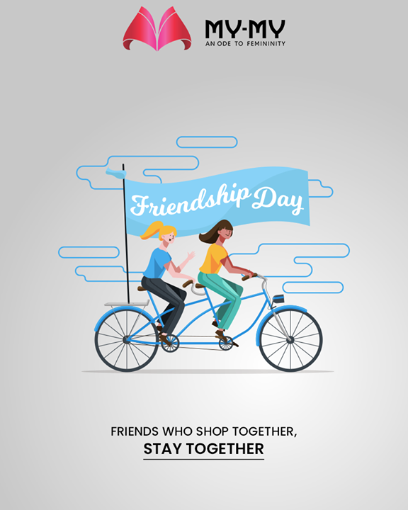 The friends who shops together stays together.   #FriendshipDay #FriendshipDay2019 #HappyFriendshipDay #Friends #MyMyCollection #ExculsiveEnsembles #ExclusiveCollection #Ahmedabad #Gujarat #India