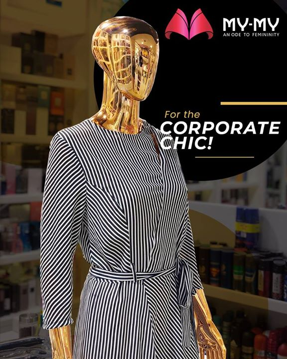 Enhance your inner-confidence and outer persona at your corporate meeting by donning this corporate and trendy outfit!   #MyMy #MyMyCollection #ExculsiveEnsembles #ExclusiveCollection #Ahmedabad #Gujarat #India