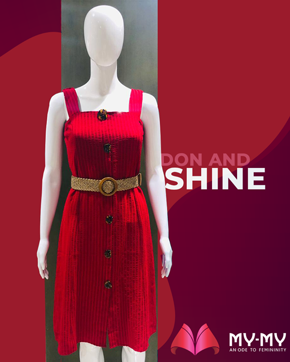 Chin up, don, and shine your day ahead!   #MyMy #MyMyStore #TrendingOutfits #AssortedEnsembles #AestheticPerfection #ImpeccableOutfits #LookStellar #FascinatingFashionDestination #FemaleFashion #Ahmedabad #EthnicWear #Sparkle #Gujarat #India