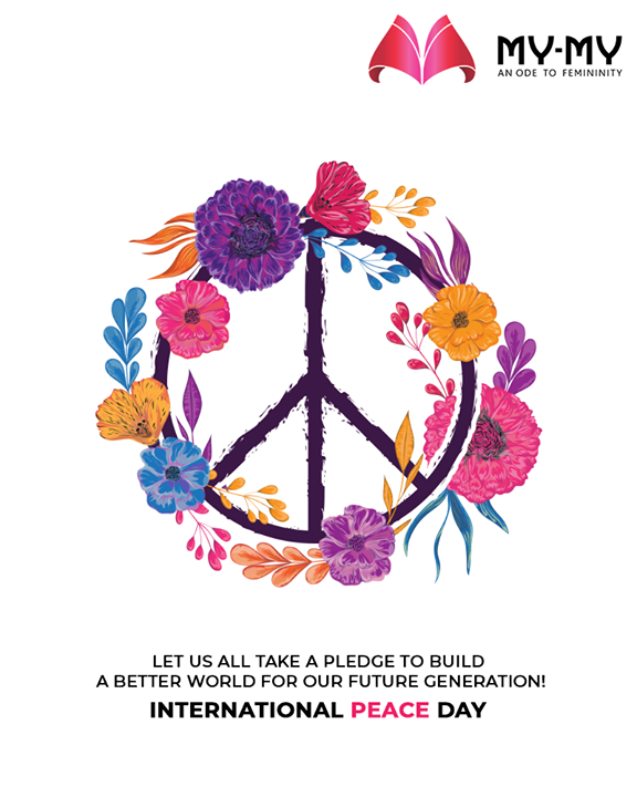 Let us all take a pledge to build a better world for our future generation!  #WorldPeaceDay #InternationalPeaceDay #PeaceDay #PeaceDay2019  #SoftAppearances #EtherealLook #DroolworthyDesign #TrendingOutfits #AssortedEnsembles #FemaleFashion #Ahmedabad #MYMY #Gujarat #India