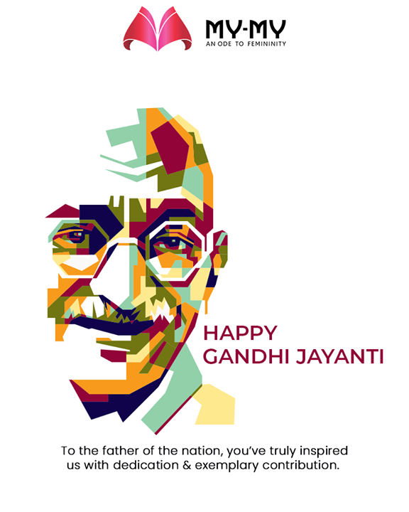 To the father of the nation, you've truly inspired us with dedication & exemplary contribution  #GandhiJayanthi #GandhiJayanthi2019 #MohandasKarmchandGandhi #MahatmaGandhi #Gandhi150 #FemaleFashion #Ahmedabad #MYMY #Gujarat #India