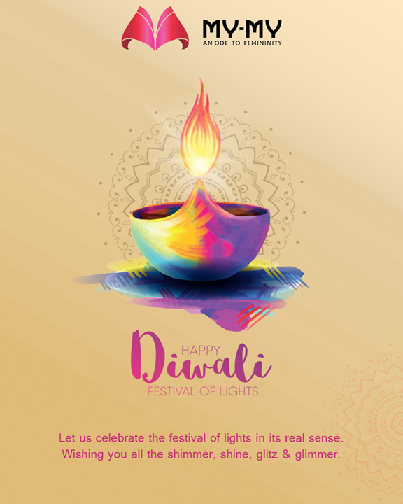 Let us celebrate the festival of lights in its real sense. Wishing you all the shimmer, shine, glitz & glimmer.  #HappyDiwali #IndianFestivals #Celebration #Diwali #Diwali2019 #FestivalOfLight #FestivalOfJoy #MyMy #MyMyCollection #ExculsiveEnsembles #ExclusiveCollection #Ahmedabad #Gujarat #India