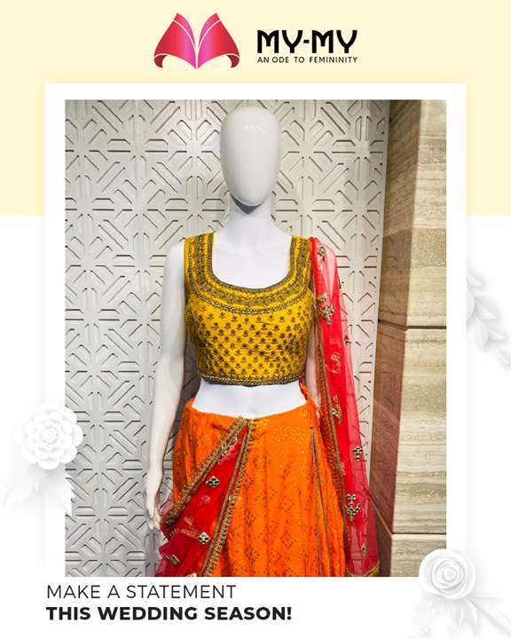 A smart update for your wedding wardrobe!  #MyMy #MyMyCollection #ExculsiveEnsembles #ExclusiveCollection #Ahmedabad #Gujarat #India