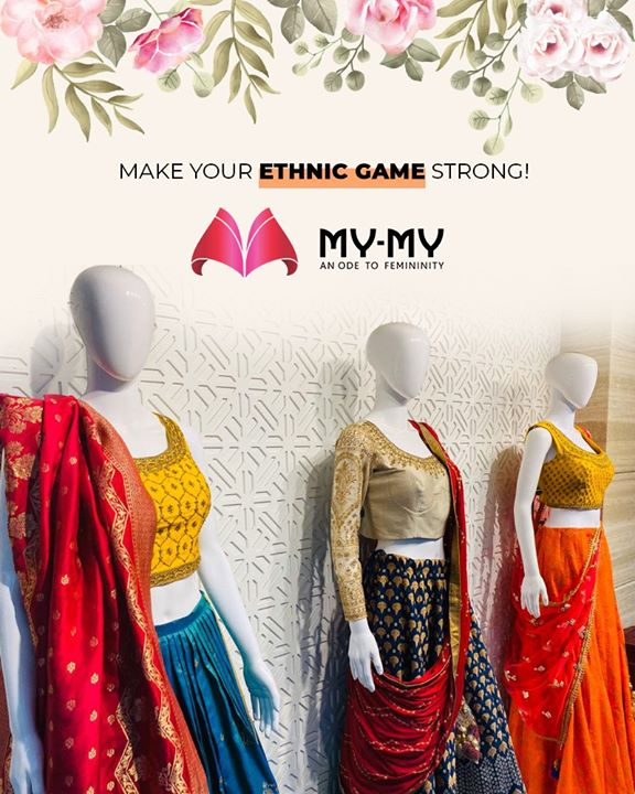 Up your ethnic game with our enchanting ethnic collection!   #WeddingCollection #MyMy #MyMyCollection #ExculsiveEnsembles #ExclusiveCollection #Ahmedabad #Gujarat #India