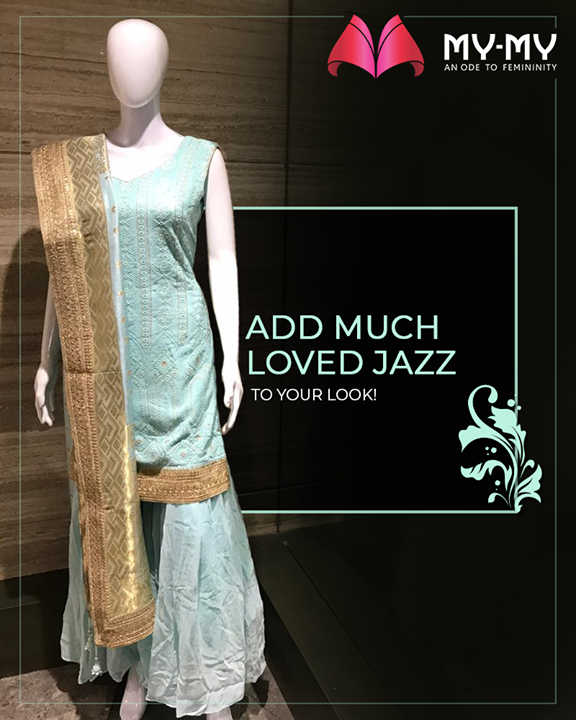 A perfect pop of light & statement making colors that are sure to glamorize your look!  #MyMy #MyMyCollection #ExculsiveEnsembles #ExclusiveCollection #Ahmedabad #Gujarat #India
