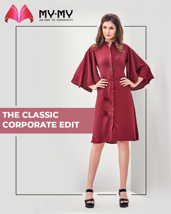 Enliven your corporate look with this comforting outfit! #MyMy #MyMyCollection #femalefashion #womensstyle #studentfashion #womensfashionwear #urbanfashion #fashionmotivation #womenclothingstore #womensfashionrange #womensurbanfashion #fashion #mensclothingstore #mensclothingbrand #mensclothingline #mensfashionstyle #mensfashionwear #mensstreetwear #malefashiontrend #mensurbanfashion #mensfashionrange #mensstreetwearstyle #vogue #clothes #ExculsiveEnsembles #ExclusiveCollection #Ahmedabad #Gujarat #India