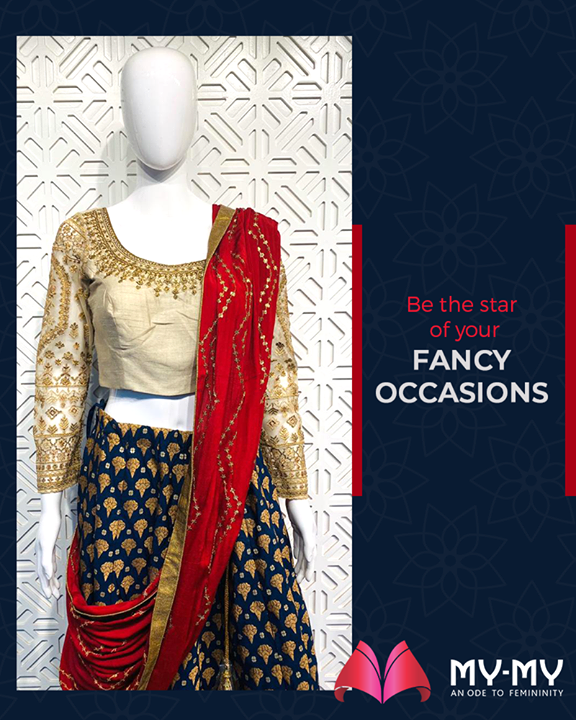 People will stare; make it worth their while with this elegant outfit!  #MyMy #MyMyCollection #ExculsiveEnsembles #ExclusiveCollection #Ahmedabad #Gujarat #India