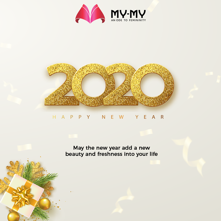 May the new year add a new beauty and freshness into your life.   #NewYear2020 #HappyNewYear #NewYear #Happiness #Joy #2k20 #Celebration #MyMy #MyMyCollection #ExculsiveEnsembles #ExclusiveCollection #Ahmedabad #Gujarat #India