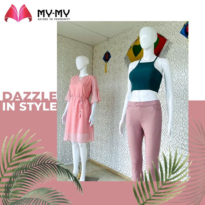 Make this style your own.  #MyMy #MyMyCollection #femalefashion #womensstyle #studentfashion #womensfashionwear #urbanfashion #fashionmotivation #womenclothingstore #womensfashionrange #womensurbanfashion #fashion #vogue #clothes #ExculsiveEnsembles #ExclusiveCollection #Ahmedabad #Gujarat #India