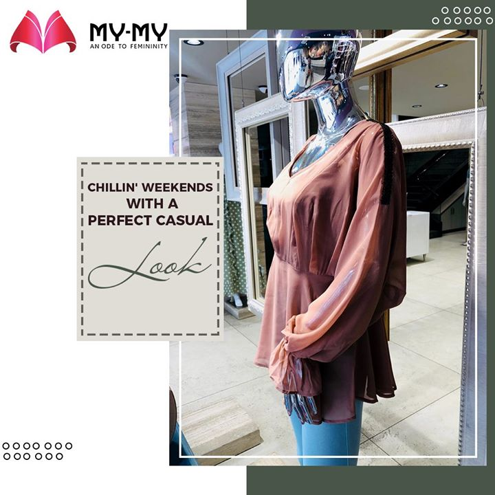 The weekend calls for some relaxing casuals and chillin' hangouts.  #MyMy #MyMyCollection #Comfy #Casuals #Comfortableoutfits #WesternOutfits #vibrantcolors #ExculsiveEnsembles #ExclusiveCollection #Ahmedabad #Gujarat #India