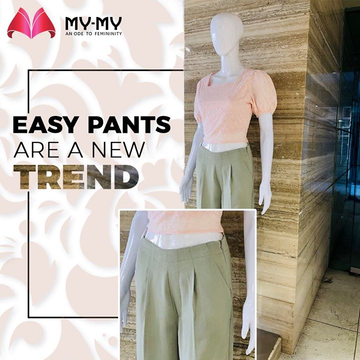 Gear up girls! A new trend is on!  #MyMy #MyMyCollection #Comfy #Classic #Pants #Easypants #Comfortableoutfits #WesternOutfits #vibrantcolors #ExculsiveEnsembles #ExclusiveCollection #Ahmedabad #Gujarat #India