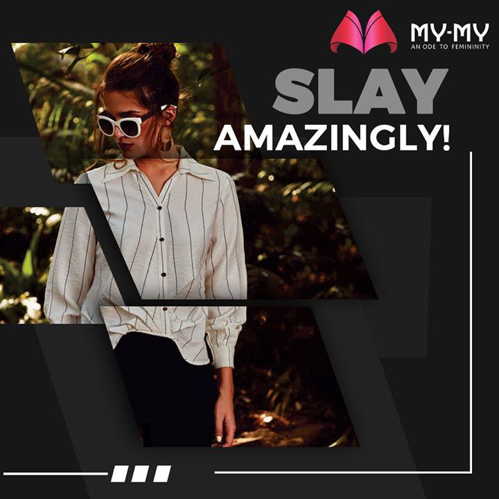 Slay everywhere.  #MyMy #MyMyCollection #femalefashion #womensstyle #studentfashion #womensfashionwear #urbanfashion #fashionmotivation #womenclothingstore #womensfashionrange #womensurbanfashion #fashion #vogue #clothes #ExculsiveEnsembles #ExclusiveCollection #Ahmedabad #Gujarat #India