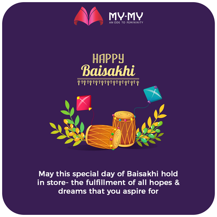 May this special day of Baisakhi hold in store- the fulfillment of all hopes and dreams that you aspire for.  #HappyBaisakhi #Baishakhi #Baishakhi2020 #MyMy #MyMyCollection #CoolestCollecton #ExculsiveEnsembles #ExclusiveCollection #Ahmedabad #Gujarat #India
