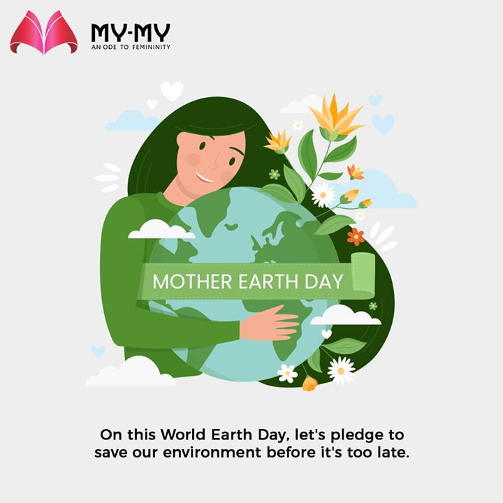 On this World Earth Day, let's pledge to save our environment before it's too late.  #WorldEarthDay #WorldEarthDay2020 #EarthDay #MyMy #ExclusiveCollection #LatestDesigns #MyMyEdition