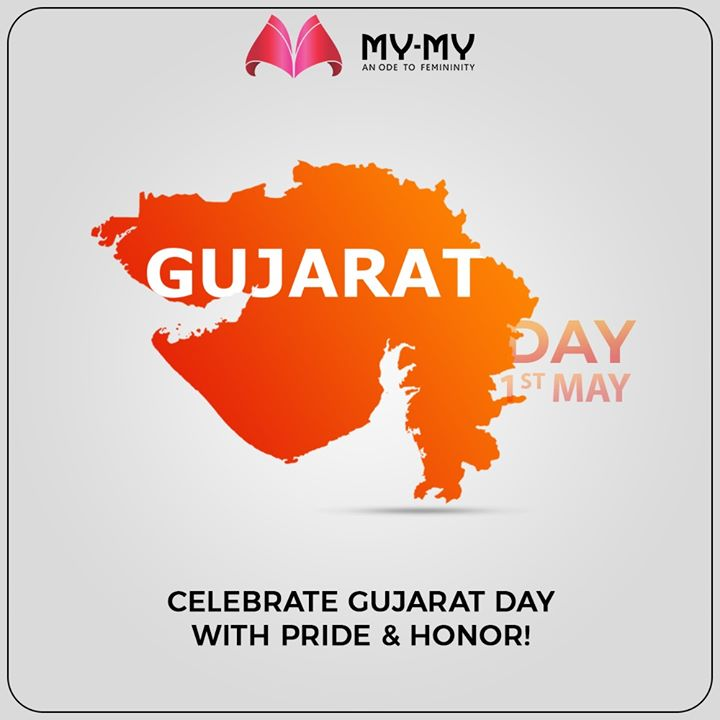 Celebrate Gujarat Day with Pride & Honor!  #HappyGujaratDay #GujaratDay #GujaratFoundationDay #GujaratDay2020 #MyMy #ExclusiveCollection #LatestDesigns #MyMyEdition #StayHome #StaySafe #CoronaVirus #Covid19 #ProtectYourself #IndiafightsCorona