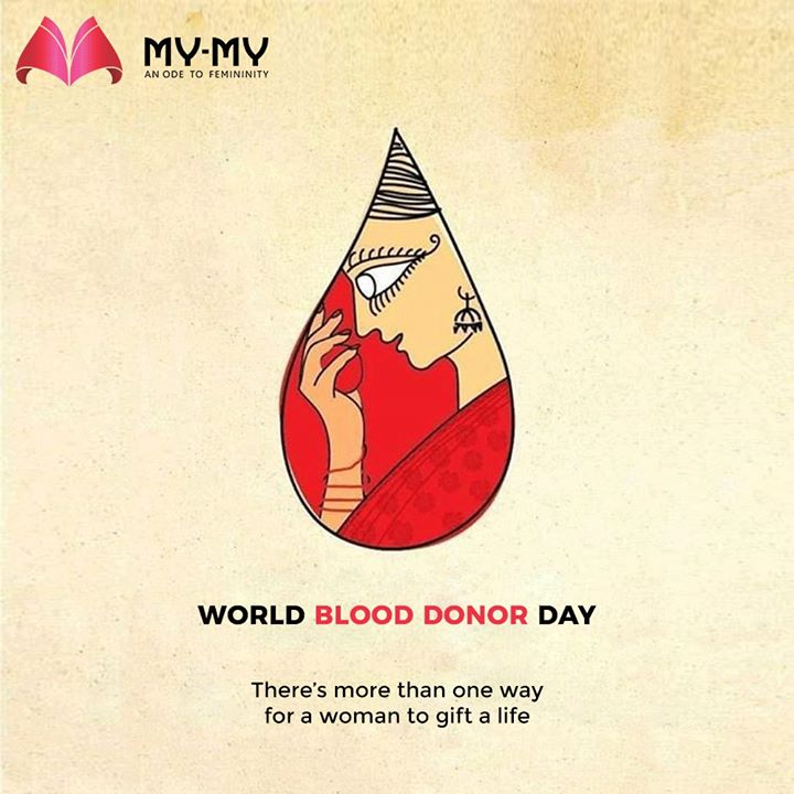 There's more than one way for a woman to gift a life  #WorldBloodDonorDay #DonateBlood #BloodDonorDay  #MyMyEdition #StayHome #StaySafe #CoronaVirus #Covid19 #ProtectYourself #IndiafightsCorona