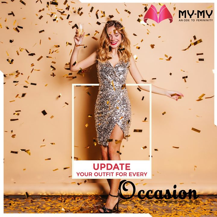 Is your Wardrobe gotten out of date? Rock the Office look again, be Chic for your Brunch or attend an Event with Grace. My-My has in store all the Perfect Outfits for making your days more Memorable and Nights more Blingy.  #MyMy #MyMyCollection #EthnicCollecton #ExculsiveEnsembles #ExclusiveCollection #Ahmedabad #Gujarat #India