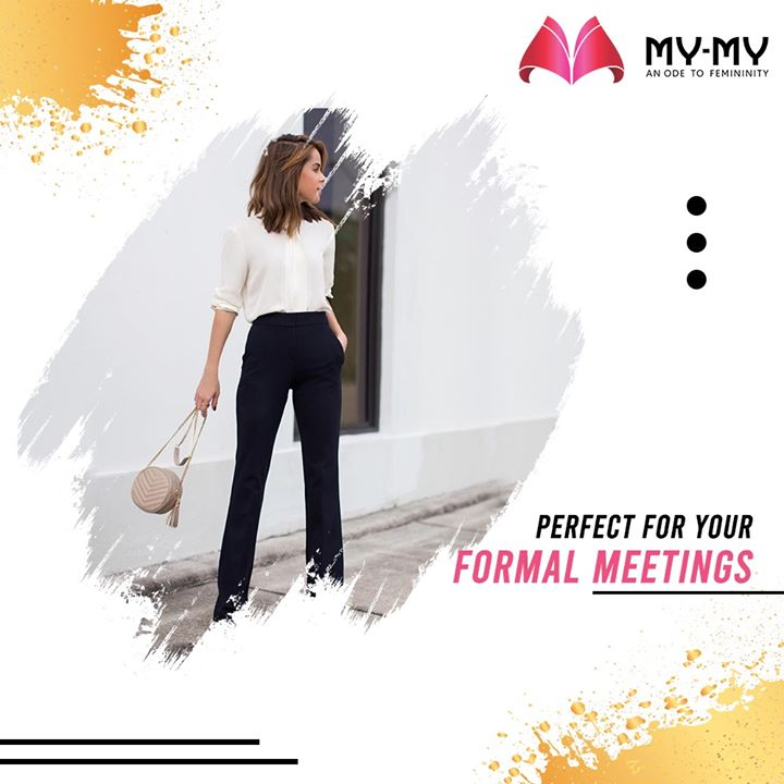 Meetings are going to be more fun! Presenting a Formal Collection for all your Formal Meetings.  #MyMy #MyMyCollection #EthnicCollecton #ExculsiveEnsembles #ExclusiveCollection #Ahmedabad #Gujarat #India