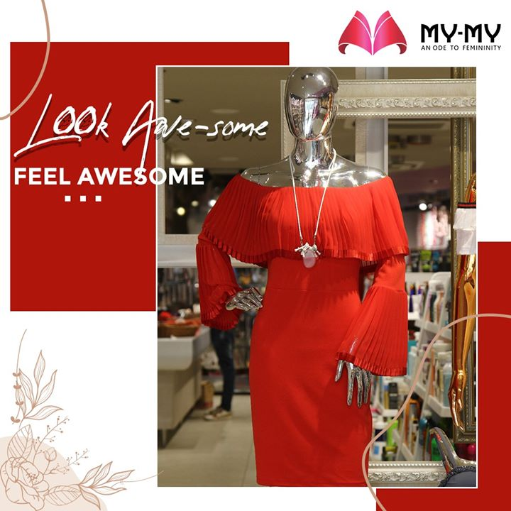 Always dress well and automatically feel good. A Little Red Dress is a must in your Wardrobe to shine in parties and look Awe-some.  #MyMy #MyMyCollection #EthnicCollecton #ExculsiveEnsembles #ExclusiveCollection #Ahmedabad #Gujarat #India