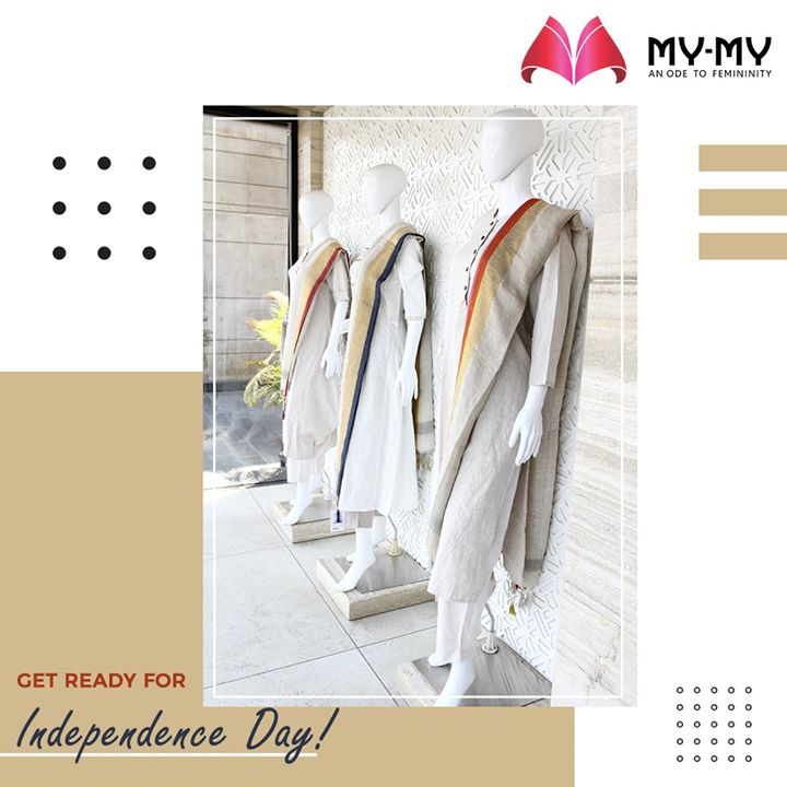 Independence Day is around the corner, get ready for it! Wear Traditional clothes and show your spirit of Indian-ness.  #MyMy #MyMyCollection #Dresses #Clothing #Fashion #IndependenceDay #Casual #Style #WomensFashion #ExculsiveEnsembles #ExclusiveCollection #Ahmedabad #Gujarat #India