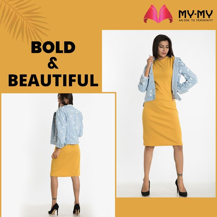 My-My,  MyMy, MyMyCollection, Dresses, Clothing, Fashion, MiniDresses, YellowDress, Casual, Style, WomensFashion, ExculsiveEnsembles, ExclusiveCollection, Ahmedabad, Gujarat, India