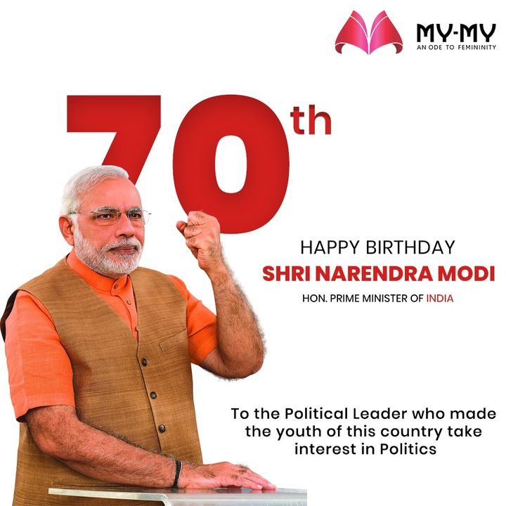 To the political leader who made the youth of this country take interest in politics.  #HappyBirthdayPMModi #PMModi #HappyBirthdayNaMo #NarendraModi #HappyBirthdayNarendraModi #MyMy #MyMyCollection #Clothing #Fashion #Outfit #FashionOutfit #Dress #YellowDress #Jacket #DenimJacket #Top #Pants #Casual #Style #WomensFashion #Ahmedabad #SGHighway #SGRoad #CGRoad #Gujarat #India