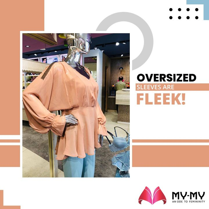 Oversized sleeves are fleek!   #MyMy #MyMyCollection #Clothing #Fashion #OversizedSleeves #Casual #Style #WomensFashion #ExculsiveEnsembles #ExclusiveCollection #Ahmedabad #Gujarat #India
