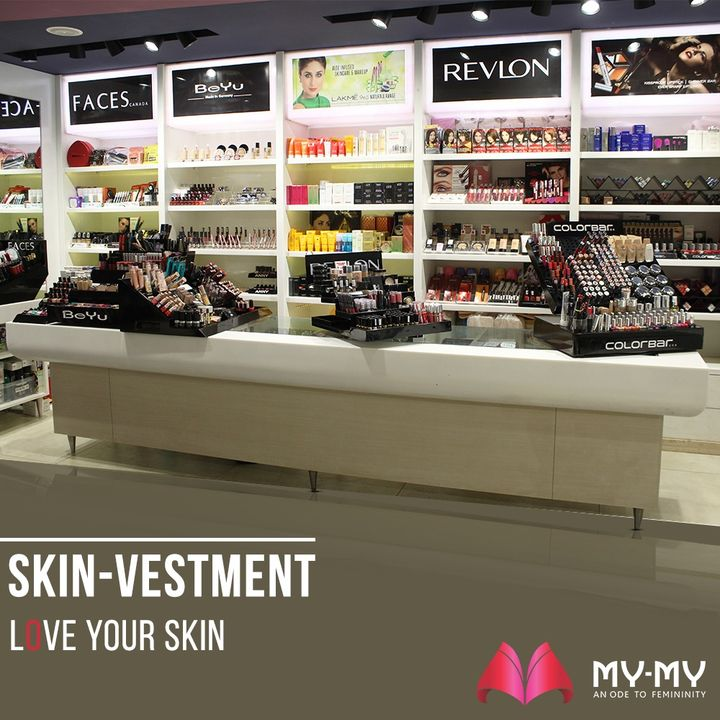 Skin-Vestment is about investing in skincare products and loving the skin. Get branded Skin Care and Make-Up Products at our store that will make you look more polished, without harming your skin.  #MyMy #MyMyCollection #Skinvestment #BeautyProducts #BrandedBeautyProducts #SkinCare #WomensMakeUp #MakeUp #SkinCareProducts #BrandedMakeUp #ExclusiveCollection #Fashion #Ahmedabad #Gujarat #India