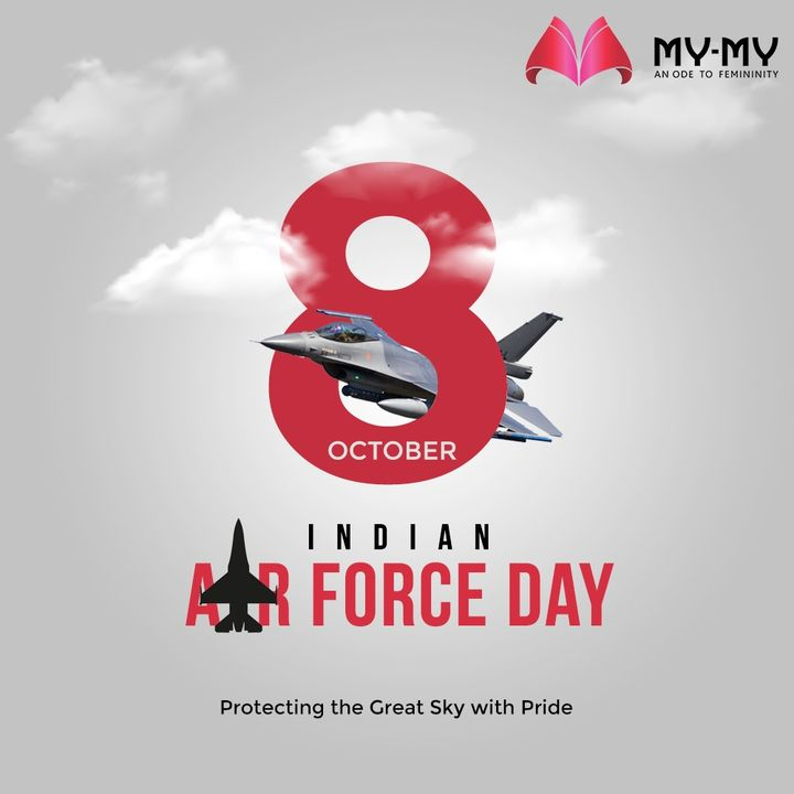 Our Indian Air Force is protecting the great Sky with Pride, Celebrating 88 years of their services.  #IndianAirForce #IndianAirForceDay #88IAF #IAF #8thOct  #MyMy #MyMyCollection #Ahmedabad #Gujarat #India #SGHighway #CGRoad