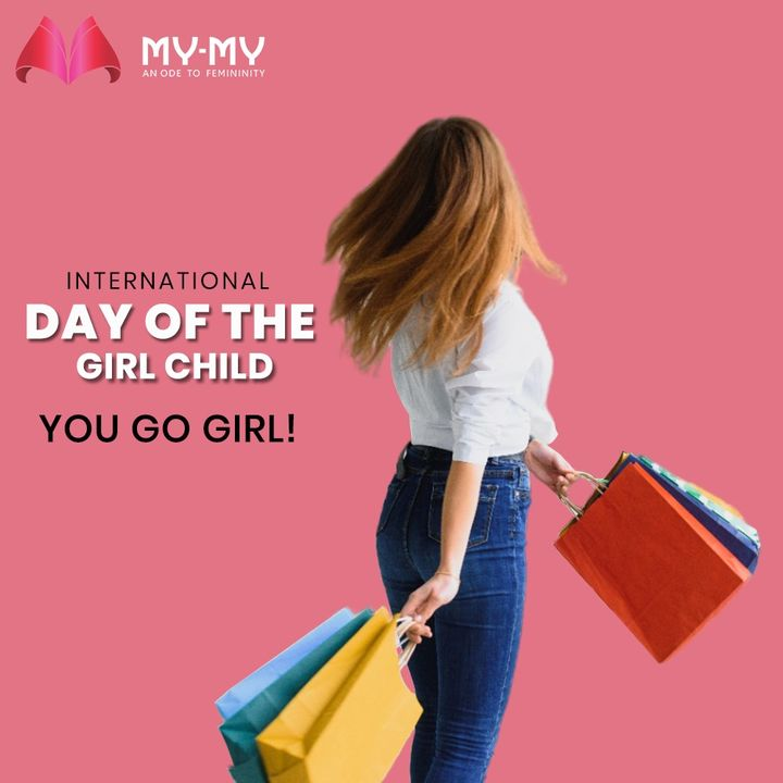 You Go Girl is an expression of encouragement, chiefly for a girl or woman and on this International Day of the Girl Child, let us all keep encouraging the Girls around us and create a positive environment.  #InternationalGirlChildDay #InternationalDayOfTheGirlChild #EmpowerGirls #GirlChildDay #GirlChild #DayOfGirls #MyMy #MyMyCollection #Clothing #Fashion #FashionTrend #Trendy #Casual #Style #WomensFashion #ExculsiveEnsembles #ExclusiveCollection #Ahmedabad #Gujarat #India