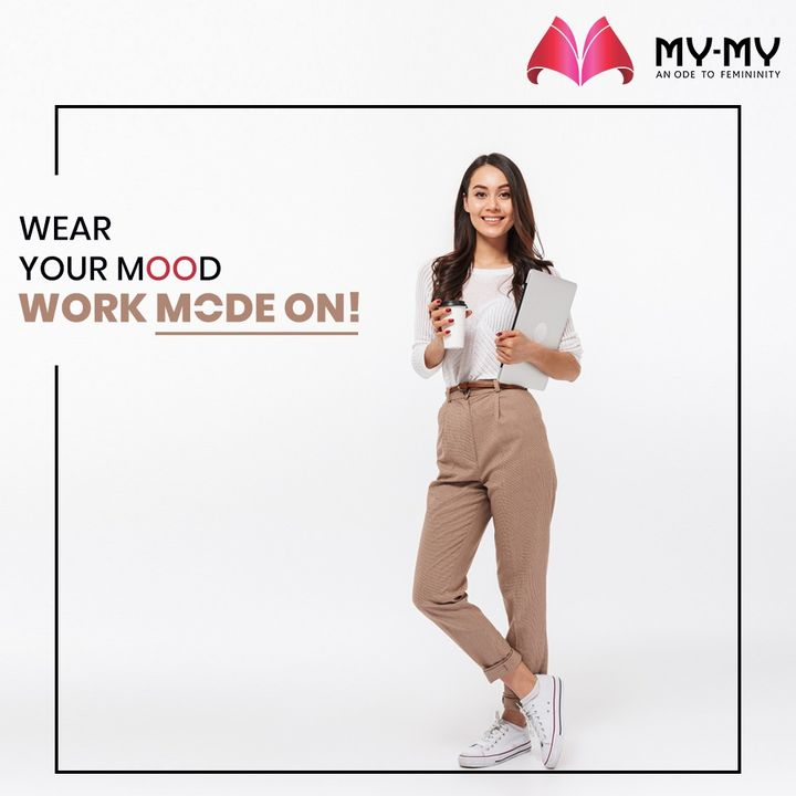 Wear your Mood and Celebrate every moment of Life. Working from Home and conferencing will be easier with a go-to work outfit.   #MyMy #MyMyCollection #Clothing #Fashion #WearYourMood #Tops #Jeans #WFH #WorkOutfit #FashionTrend #Trendy #Casual #Style #WomensFashion #ExculsiveEnsembles #ExclusiveCollection #Ahmedabad #Gujarat #India