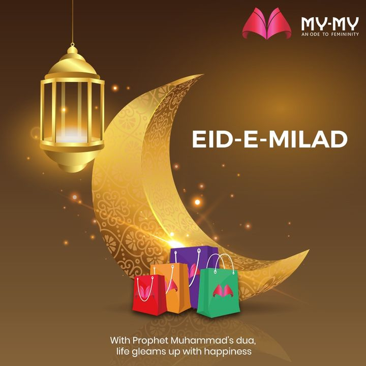 With Prophet Muhammad's dua, life gleams up with happiness.  #EideMilad #EideMilad2020 #EideMiladunnNabi #Eid #MiladunNabi #ProphetMuhammad #MyMy #MyMyCollection #Ahmedabad #Gujarat #India #SGHighway #CGRoad