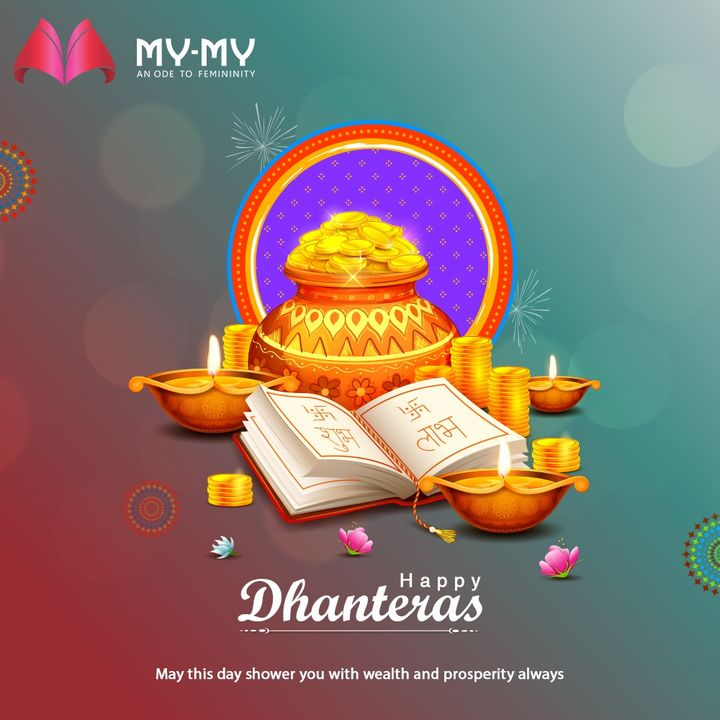 May this day shower you with wealth and prosperity always  #Dhanteras #Dhanteras2020 #ShubhDhanteras #IndianFestivals #DiwaliIsHere #Celebration #HappyDhanteras #FestiveSeason #MyMy  #Style #WomensFashion #Ahmedabad #SGHighway #CGRoad #Gujarat #India