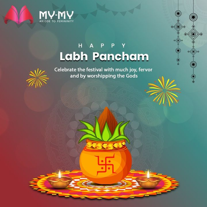 Celebrate the festival with much joy, fervor and by worshipping the Gods  #ShubhLabhPancham #LabhPancham #LabhPancham2020 #IndianFestivals #Celebration #HappyDiwali #FestiveSeason #MyMy #MyMyCollection #Fashion #FashionDestination #AhmedabadFashion #MyMyShowroom #Ahmedabad #Gujarat #India #SGHighway #CGRoad