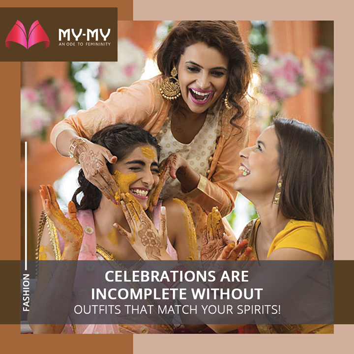 Celebrations are incomplete without Outfits that match your spirits!  #MyMy #MyMyCollection #Clothing #Fashion #Ethnic #Kurti #FestiveKurti #FestiveOutfits #WomensFashion #ExclusiveCollection #Ahmedabad #Gujarat #India
