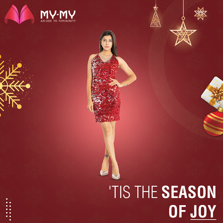 Get ready to ring the jingle bells in an alluring outfit for the Christmas-y Feels because 'Tis the Season of Joy and Joy starts from fashionable clothing.   #MyMy #MyMyCollection #Clothing #Christmas #Outfit #WinterOutfit #Dresses #ChristmasOutfit #WinterDresses #CasualWear #WinterOutfits #Style #WomensFashion #Ahmedabad #SGHighway #SGRoad #CGRoad #Gujarat #India