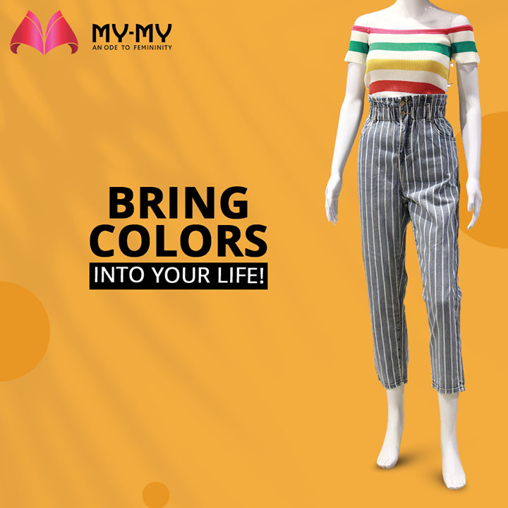 Bring Colors into your Life with My My's vibrant collection of clothes and high waisted bottom-wear, elevating your chic factor and style.  #MyMy #MyMyCollection #Clothing #Fashion #Outfit #FashionOutfit #Top #WinterDresses #CasualWear #WinterOutfits #Style #WomensFashion #Ahmedabad #SGHighway #SGRoad #CGRoad #Gujarat #India