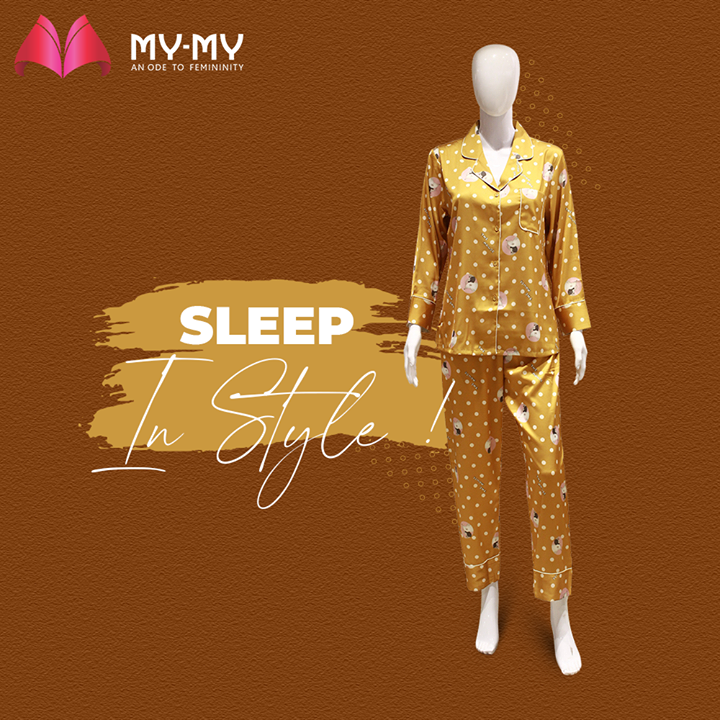 Visit our Clothing Paradise and find a perfect fit according to your style. At My-My Stores, we have redefined the comfort of Sleep Wear.  #MyMy #MyMyCollection #SleepWearCollection #NightWear #Nighties #Pajama #ExclusiveCollection #Fashion #Ahmedabad #Gujarat #India