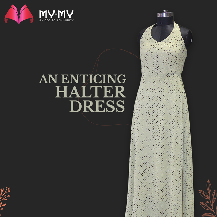 My-My,  MyMy, MyMyCollection, Clothing, Fashion, Outfit, FashionOutfit, Dress, HalterDress, HalterNeck, Style, WomensFashion, Ahmedabad, SGHighway, SGRoad, CGRoad, Gujarat, India