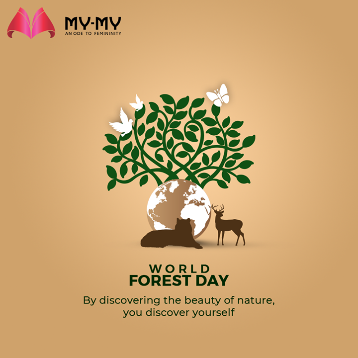 By discovering the beauty of nature, you discover yourself  #WorldForestDay #WorldForestryDay #InternationalDayofForests #WorldForestryDay2021 #SaveForests #PlantMoreTrees #MyMy #MyMyCollection #Clothing #Fashion #Outfit #FashionOutfit #Dresses #CasualWear #Style #WomensFashion #Ahmedabad #SGHighway #SGRoad #CGRoad #Gujarat #India