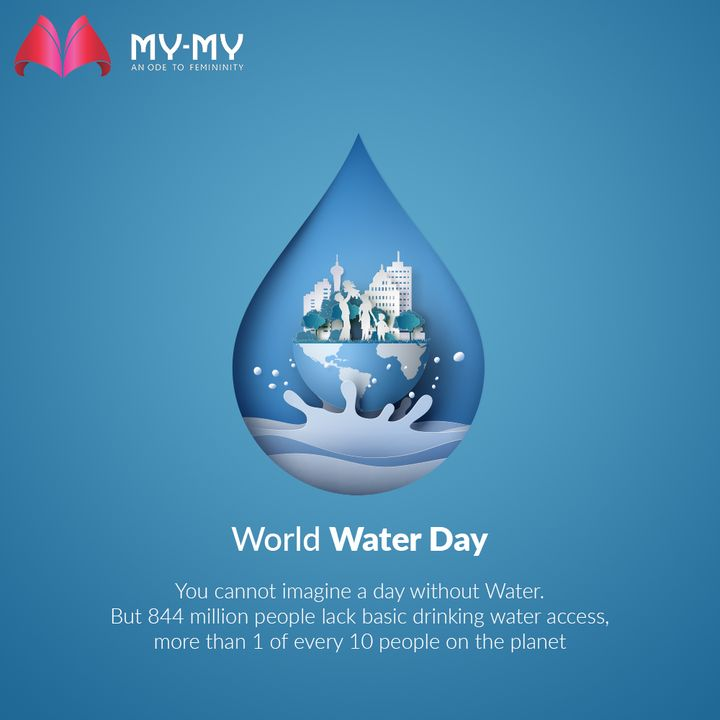 You cannot imagine a day without Water. But 844 million people lack  basic drinking water access, more than 1 of every 10 people on the planet  #WorldWaterDay #WorldWaterDay2021 #SaveWater #WaterIsLife #WaterDay #MyMy #MyMyCollection #Clothing #Fashion #Outfit #FashionOutfit #Dresses #CasualWear #Style #WomensFashion #Ahmedabad #SGHighway #SGRoad #CGRoad #Gujarat #India